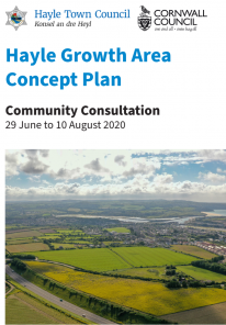 Community Consultation 29 June to 10 August 2020   Hayle Growth Area Concept Plan