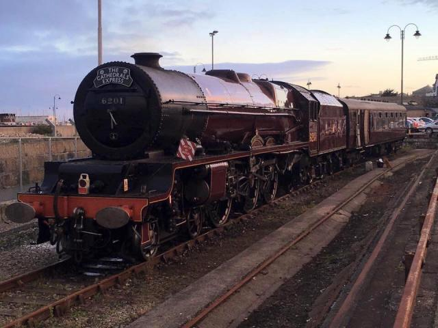 On sidings in Penzance | Steam Train Princess Elziabeth