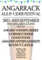 Angarrack Ale & Cider Festival 3-6th September | Angarrack Inn